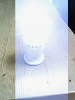 ベルマンフラッシュ受信機(発光時)